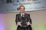 Mike at Private Dentistry Awards 2013